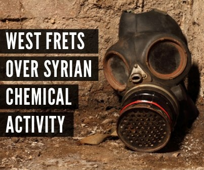 Syrian Chemical Weapons, Photo by Jerusalem Prayer Team