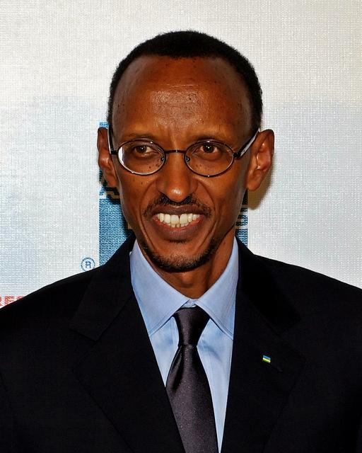 President Paul Kagame, Rwanda, Photo by David Shankbone