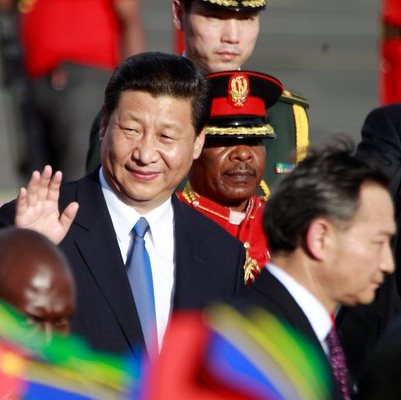 China President Xi Jinping Delivers Speech in Dar es Salaam, Tanzania - March 2013
