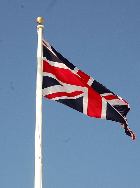 British Flag, Photo by Daniel S. Hagy