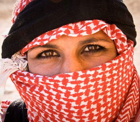 Syria Bedouin Woman, Photo by Marc Veraart