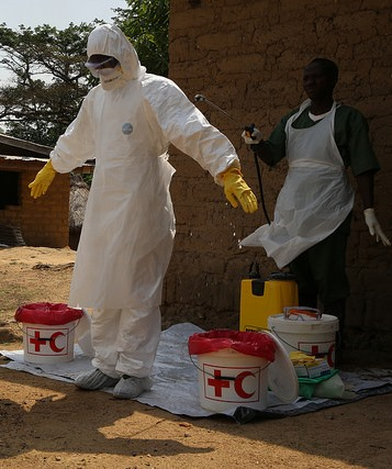 Ebola outbreak in Guinea, Photo by Photo by International Federation of Red Cross and Red Crescent Societies