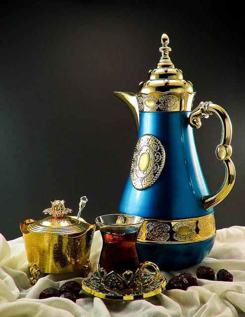 Ramadan Tea & Dates, Photo by  Mohammed Al Afoo