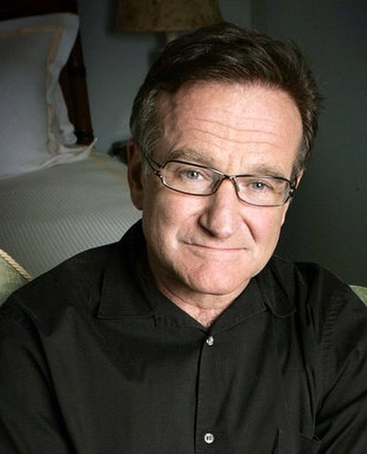 Robin Williams, 1951 - 2014, Photo by Andy