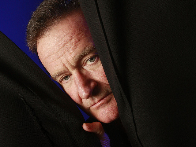 Robin Williams (1951 - 2014), Photo by Jay Paul