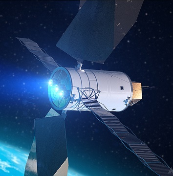 NASA Orion Space Craft, Asteroid Capturing Device, Photo by NASA