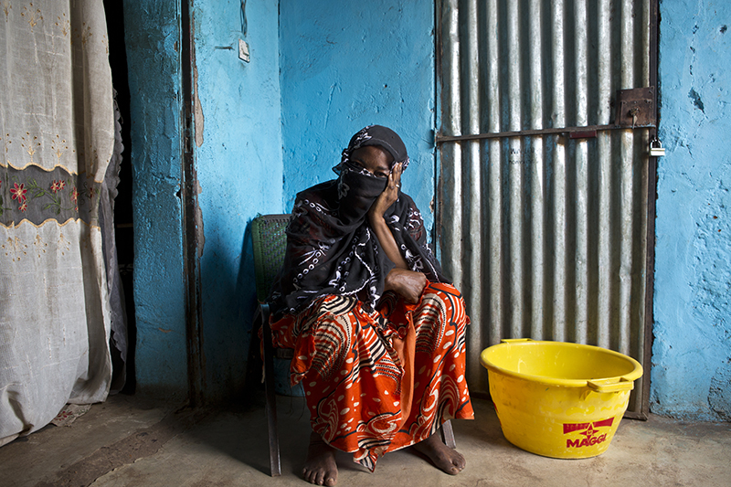 37-Year-Old Rape Victim, Mali, IDPS Bamako, Photo by Voice Nature World Plus