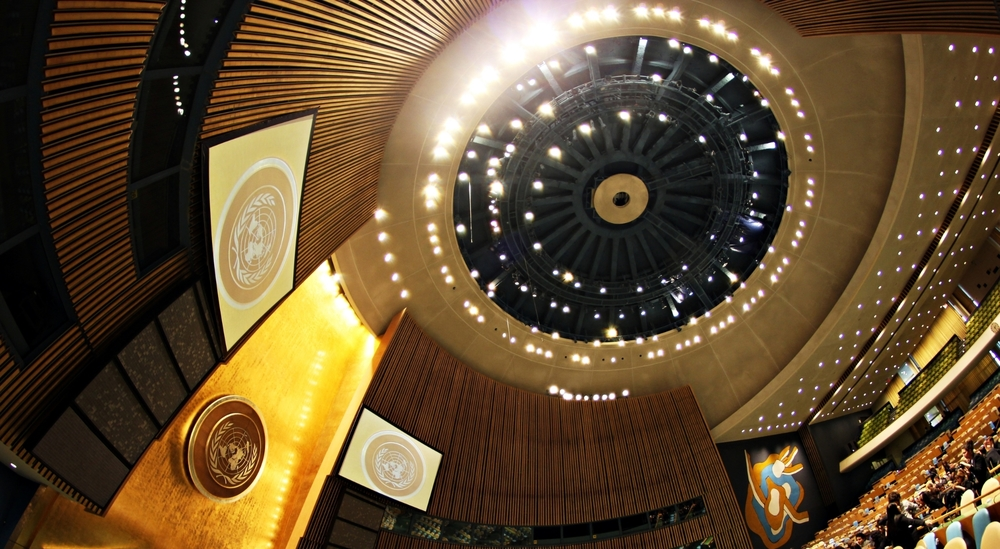 United Nations general assembly hall