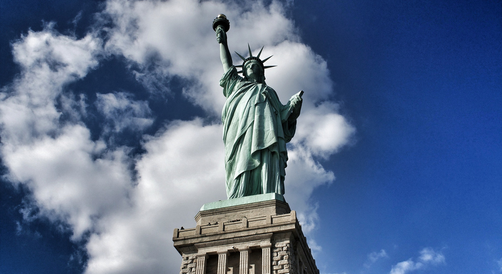 Statue of Liberty, New York, Photo by Alex Be.