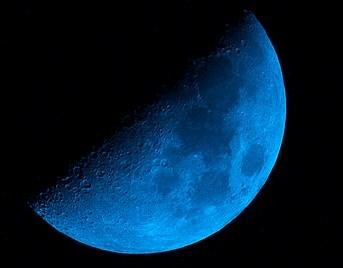 Blue Moon, Photo by Carl Jones