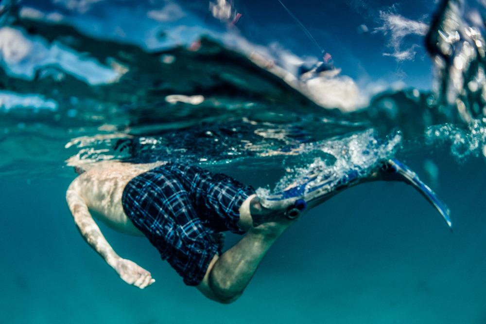 Blue Snorkelling