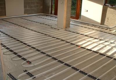 Underfloor Heating Abbey Boilers - Under floorboard heating