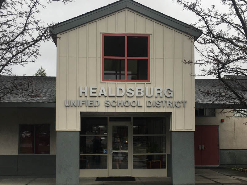 Safe haven resolution vote packed seats at school board meeting - Read the Healdsburg Tribune article here