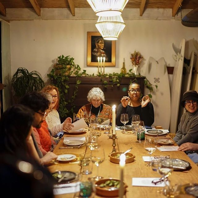 Last Saturday. Fareground dinner 005 with @_thestingingnettle_ ✨💫 . . #farmtofork #farmtotable #meetyourmaker #apothecary #local #herbs #herbalhealing #buylocal #womenempowerment #womeninbusiness #berkeley