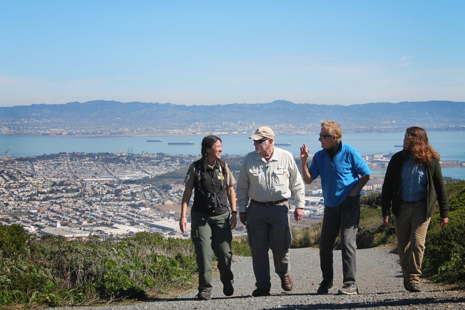 San Bruno Mt on OpenRoad with Doug McConnell! NBC Bay Area