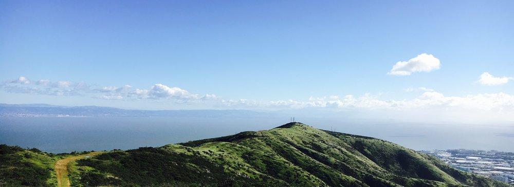 View of San Bruno Mt ridge.SBMW.2017.jpg