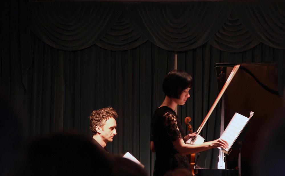 Miranda Cuckson, violin Yegor Shevtsov, piano
