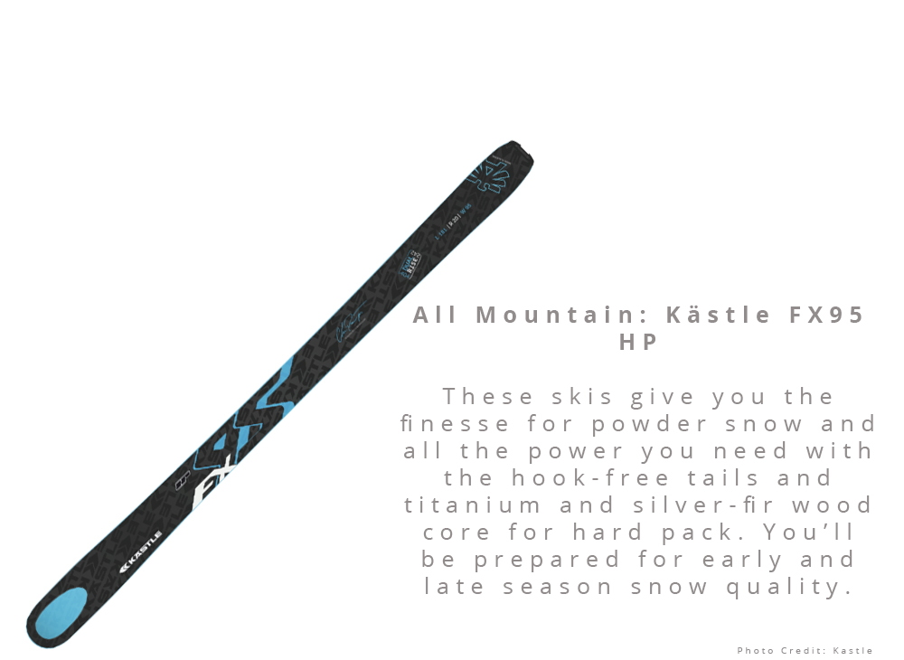 All Mountain: Kästle FX95 HP