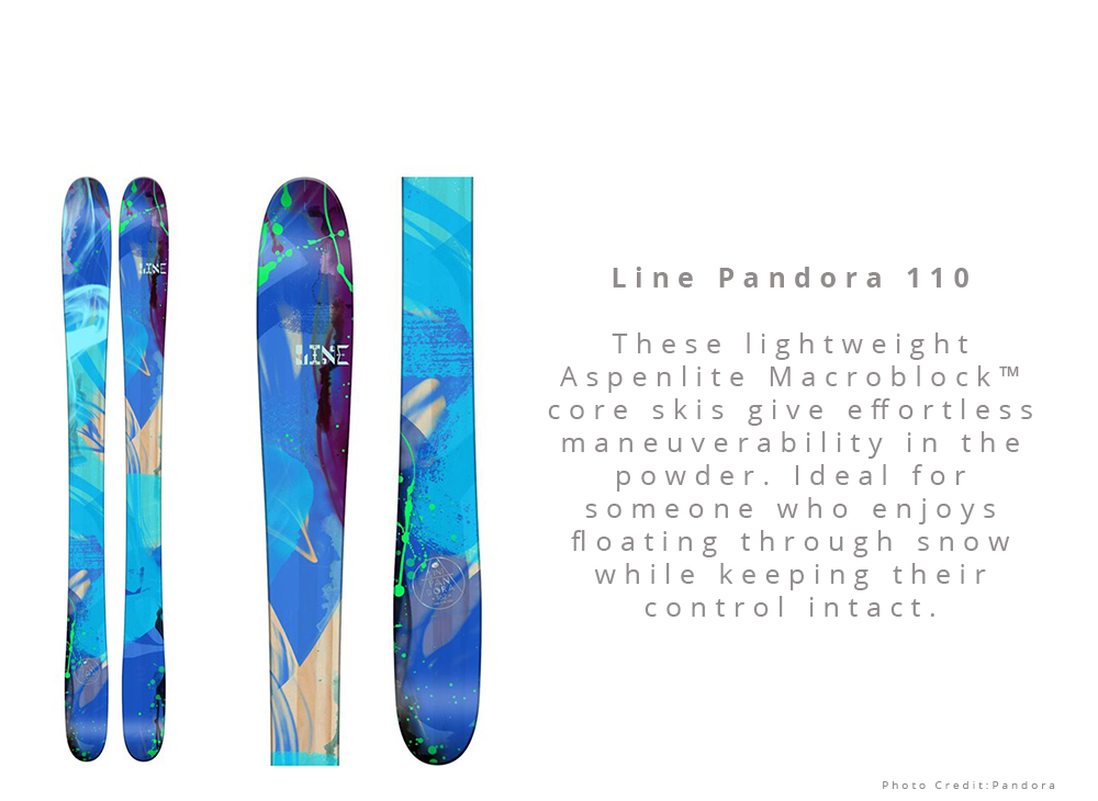 Powder: Line Pandora 110