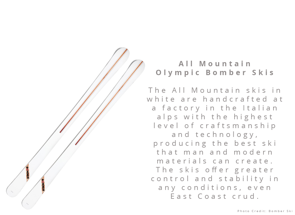 All Mountain Olympic Bomber Skis