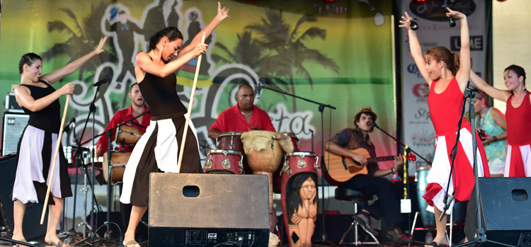 Photo:  Latin Festival