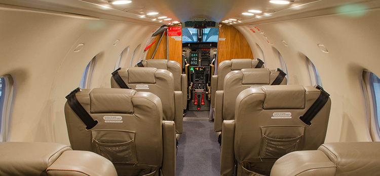 Inside Tradewind Aviation Pilatus PC12 Flight
