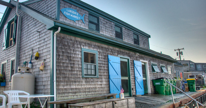Larsen's Fish Market, Photo: Betsey Larsen