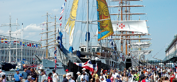 Rendez-Vous Tall Ships Regatta by Boston Sail