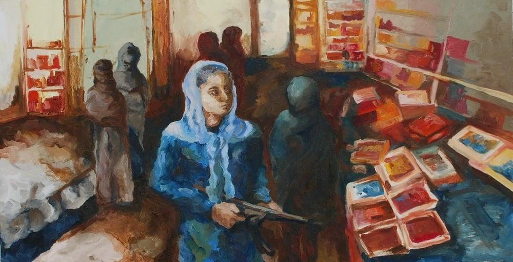 Peshawar Bazaar