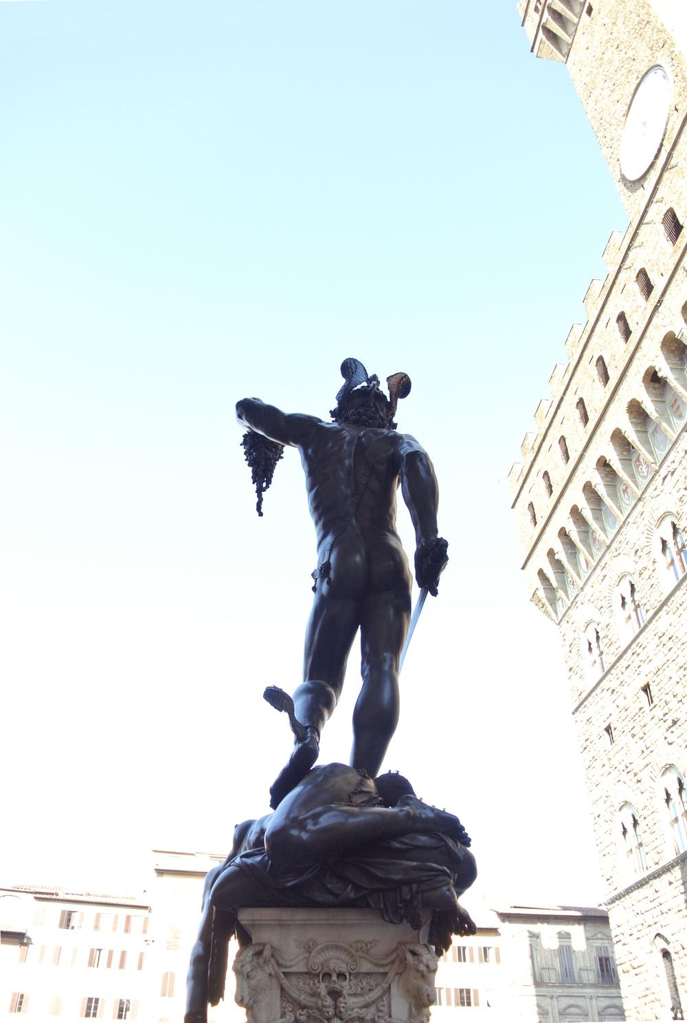 loggia dei lanzi, piazza della signoria | firenze