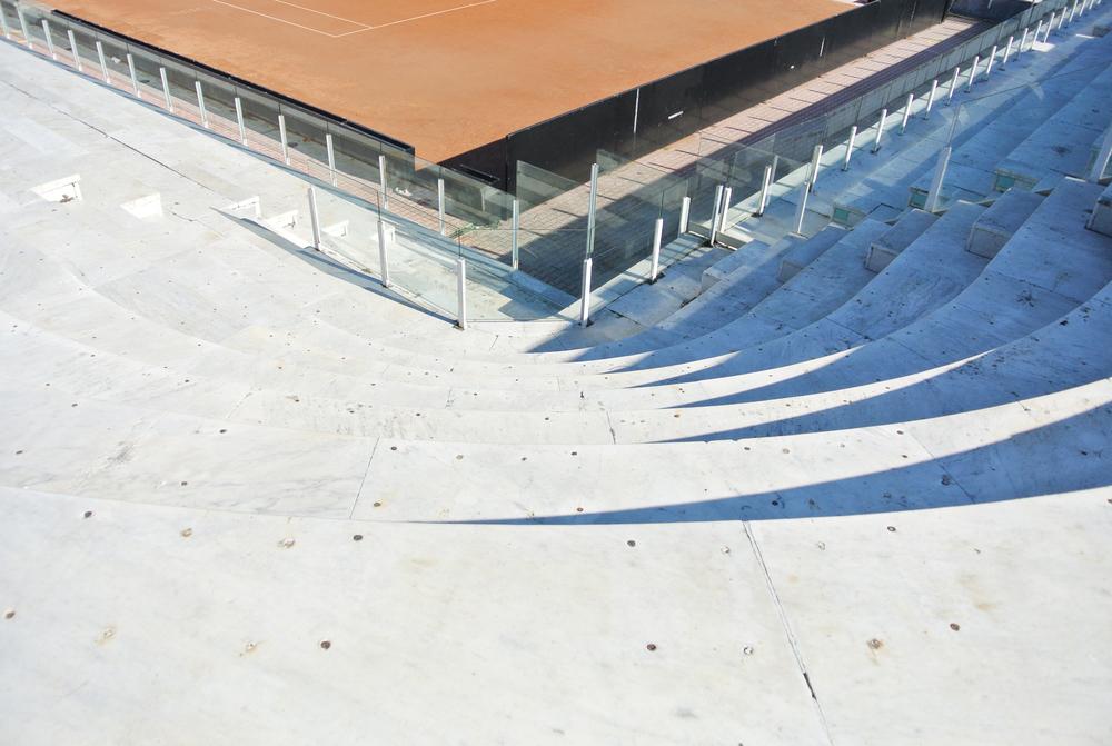 Tennis Club Stadium Seating Detail / Forum of Mussolini Olympic Stadium