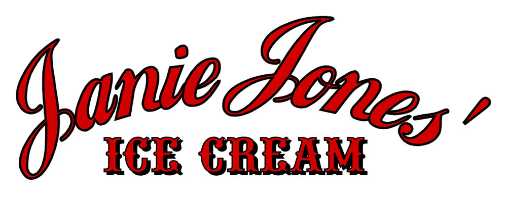 * Janie Jones' Ice Cream will re-open Memorial Day Weekend 2017!