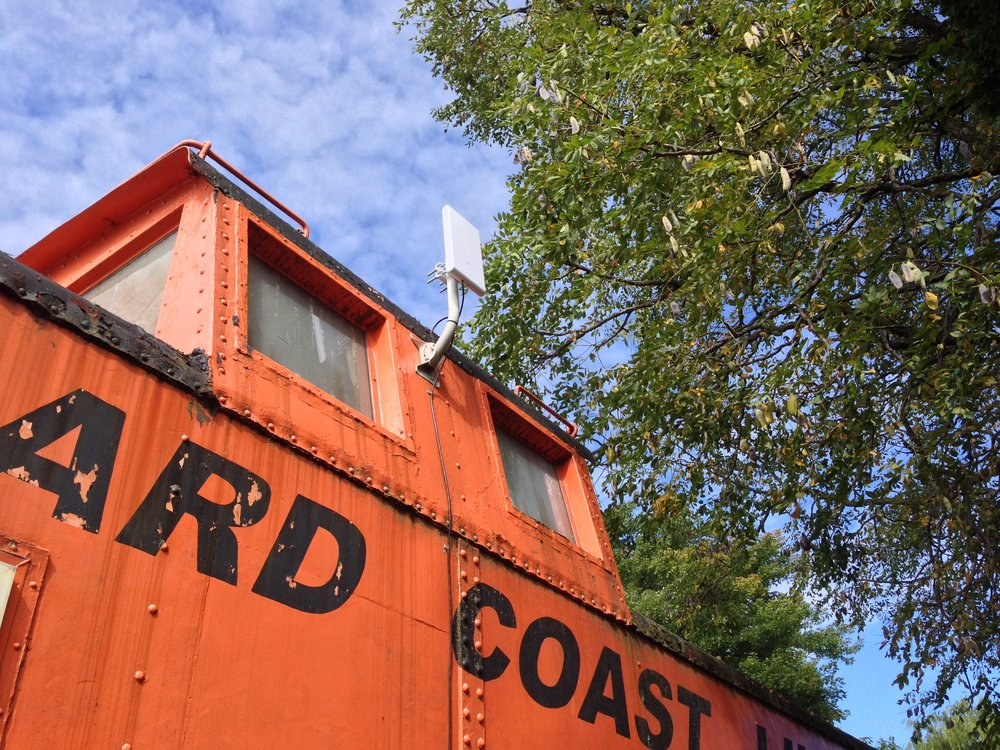 Free WIFI internet is now available in all caboose cabins!