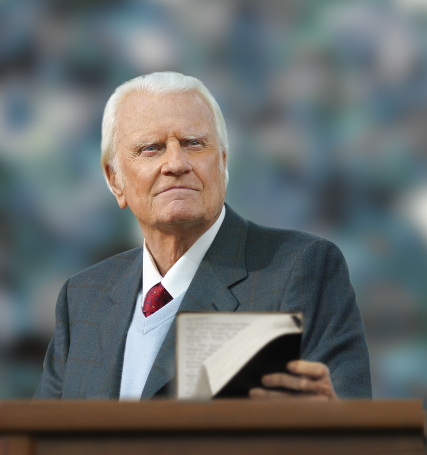 LEARN MORE ABOUT THE LIFE OF BILLY GRAHAM AT WWW.BGEA.ORG. -