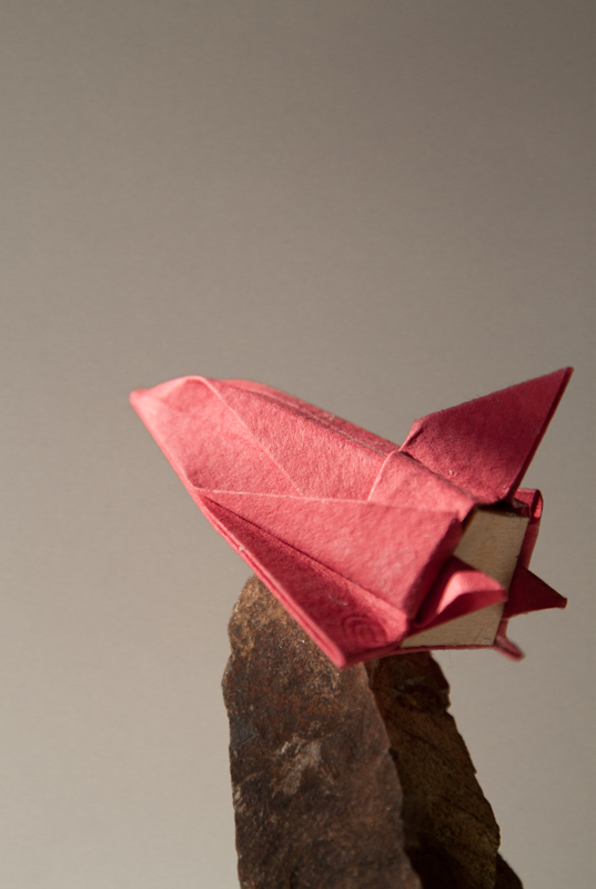 Space Shutter Origami
