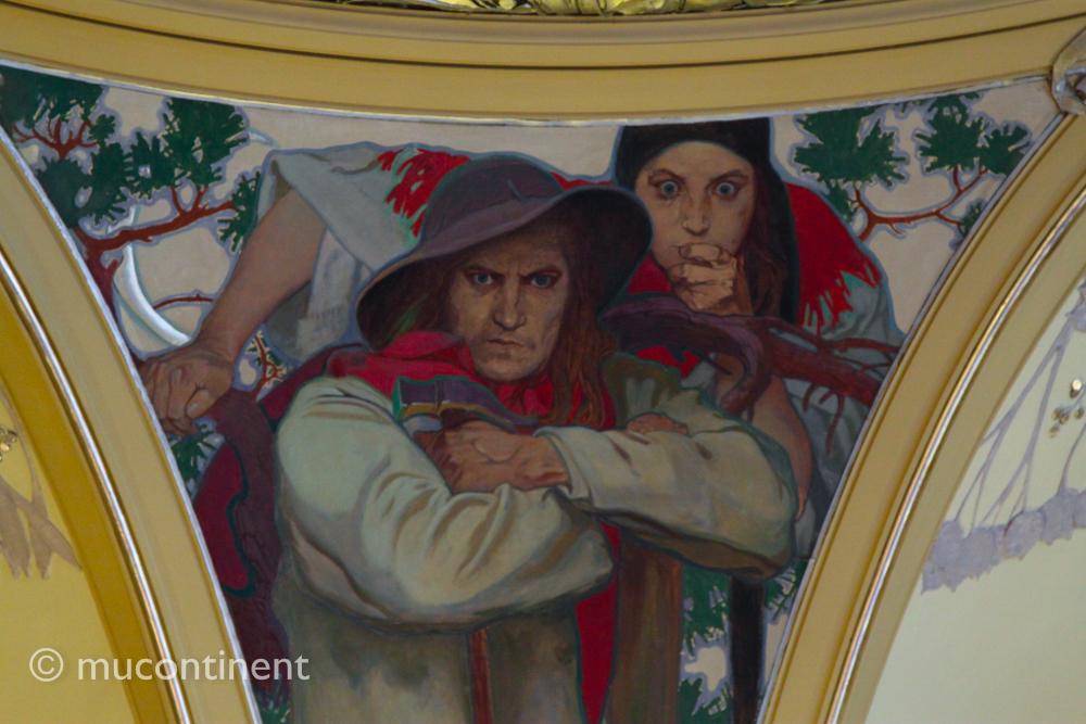 Mucha's Mural