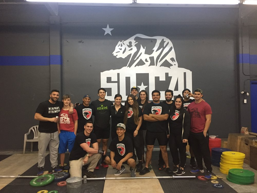 SoCal Weightlifting Club, remote and local athletes, coming together to host the 2017 Summer Classic Weightlifting Meet