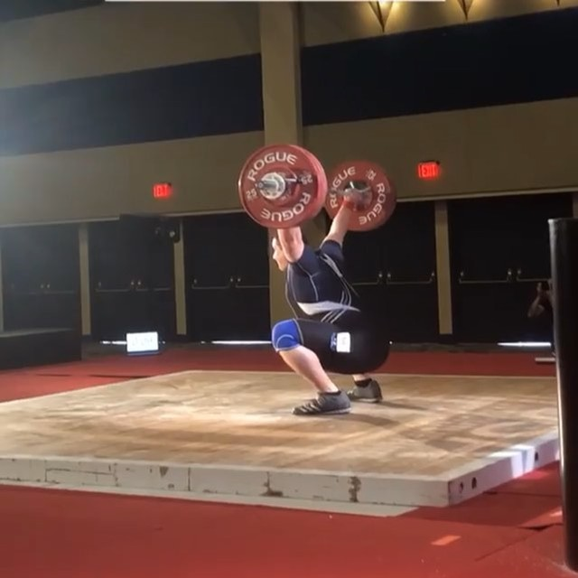 @lawrence.ohara had a huge performance at #19natuniu25. 4 for 6 day with a 131/166/297 total. This was his first national meet and he walked away with a bronze in the CJ. We took some big jumps after his 166kg CJ to try to qualify for senior nationals. Unfortunately 180kg wasn't in the cards that day. This kid has major potential and with only 5 months in the sport, he has displayed all the makings of a great weightlifter. Can't wait to see where we are this time next year! #pursuingexcellenceinweightlifting  #socalwlc #weightlifting #snatch #cleanandjerk
