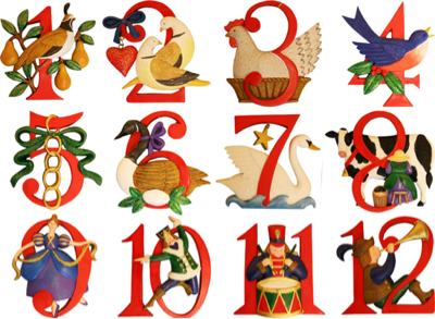 twelve christmas of the days