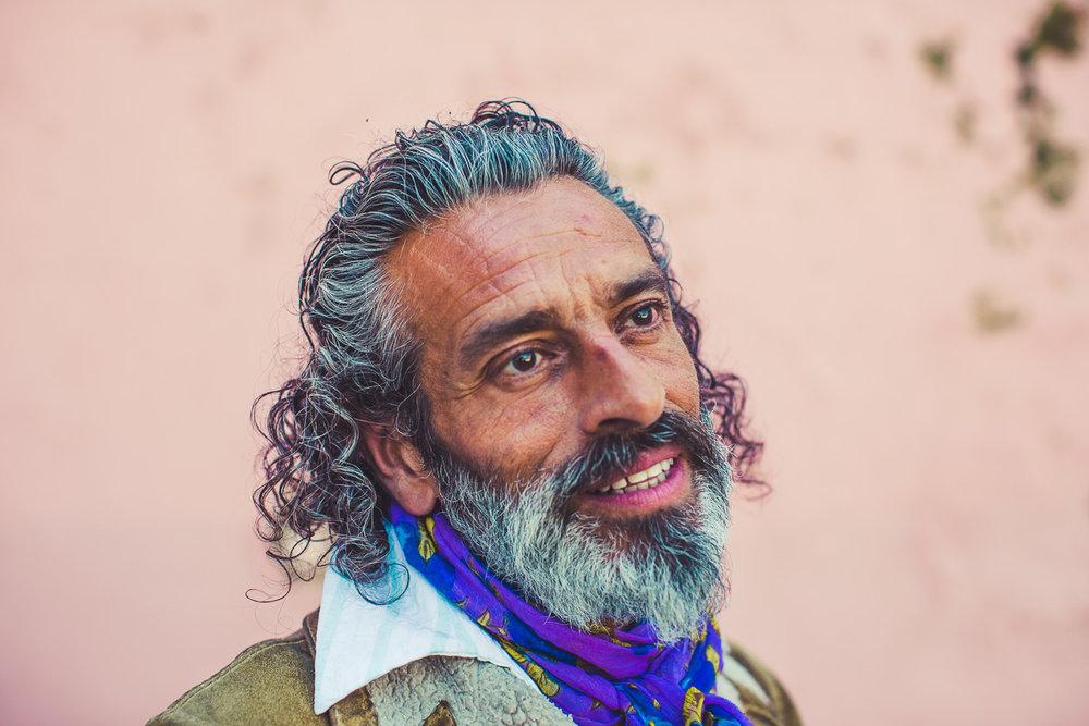 Gypsy Street Portrait