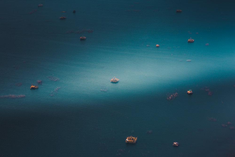 Aerial Manila Bay