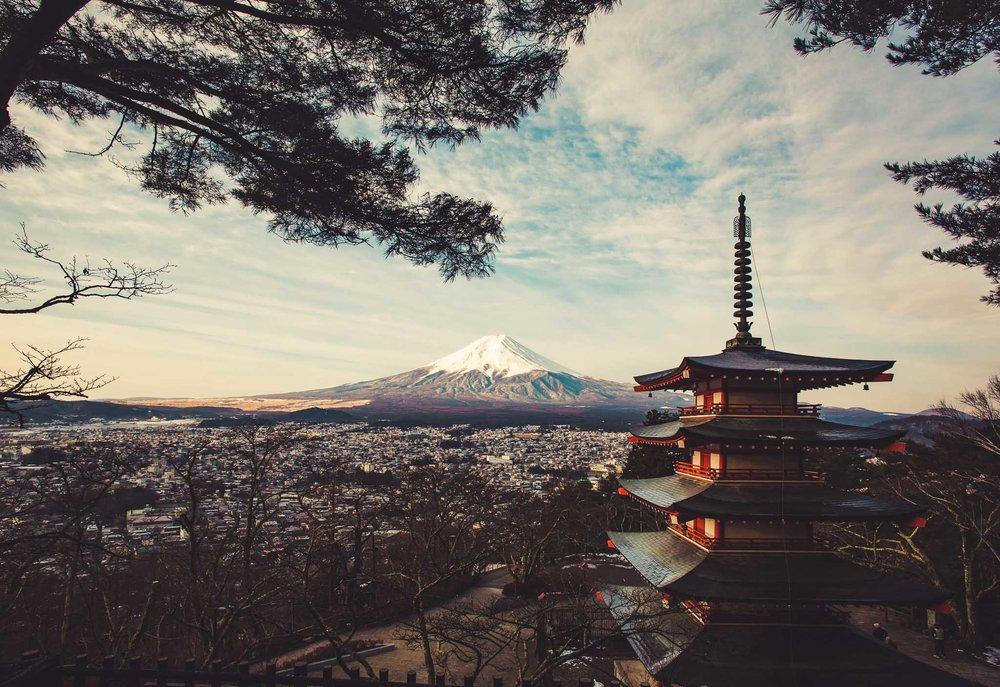 Chureito Pagoda Mt. Fuji