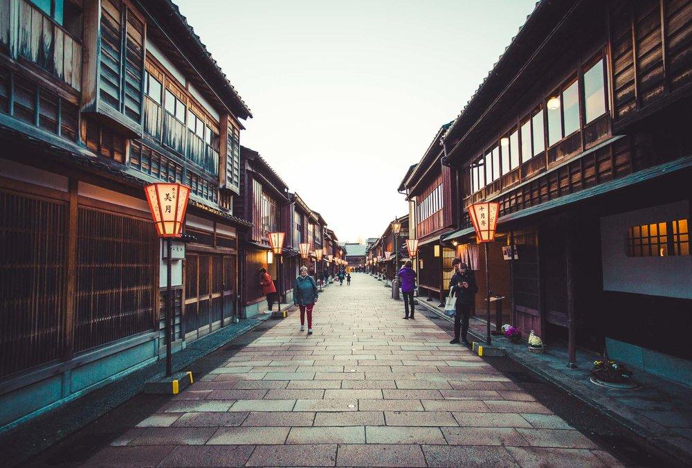 Higashi Chaya Tea District, Kanazawa