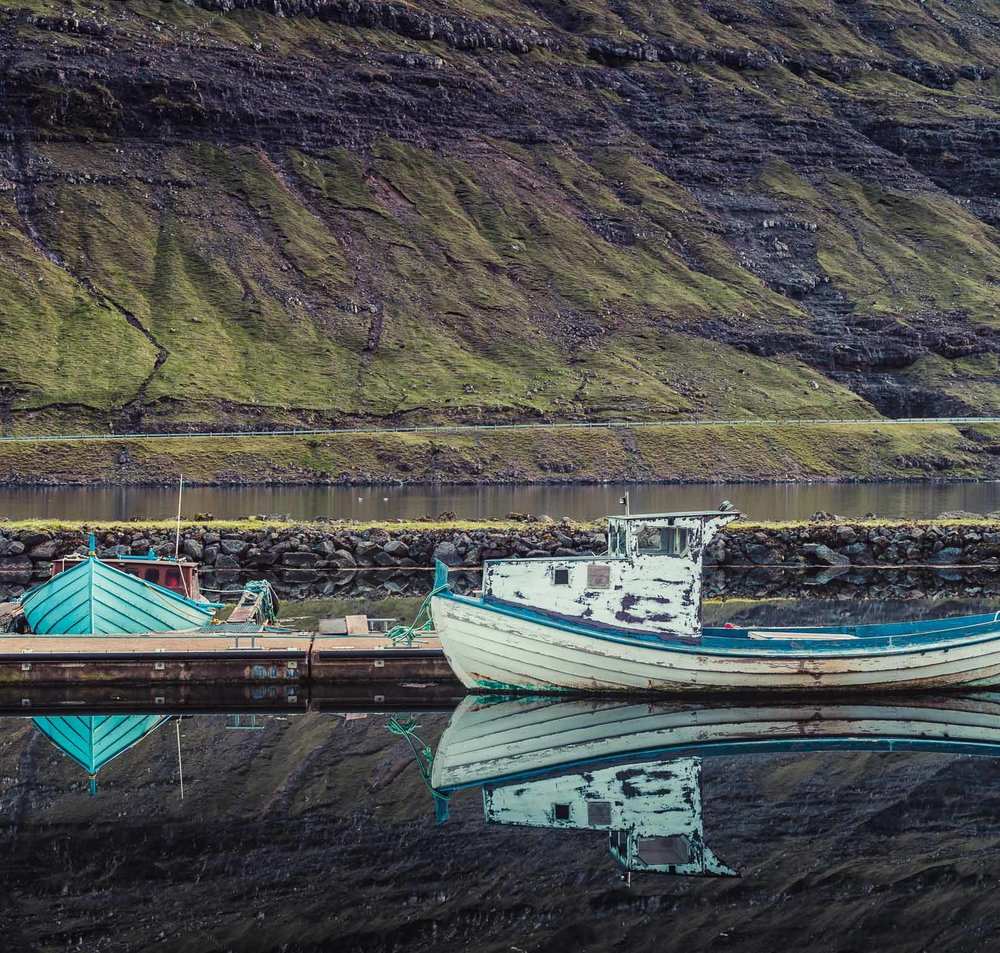 Funingur Fish Boats, Faroe Islands