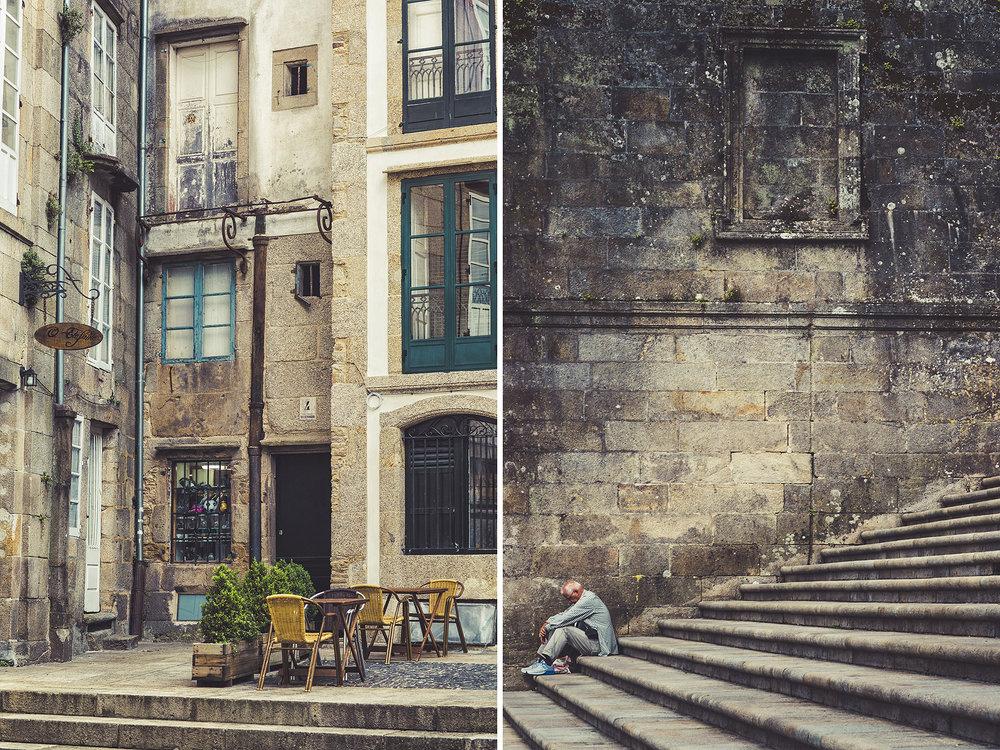 Back Alleys of Santiago De Compostela