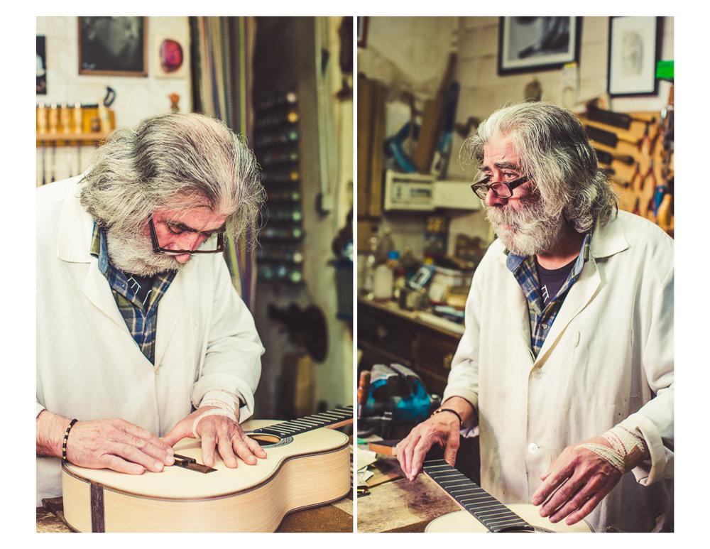 Guitar Maker in Granada
