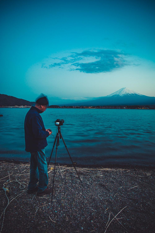Kawaguchiko -  ISO 100, F11 @ 5 seconds (Tripod)