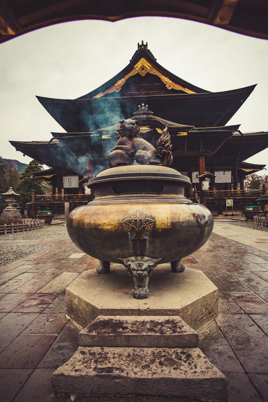 Zenkouji Temple, Nagano