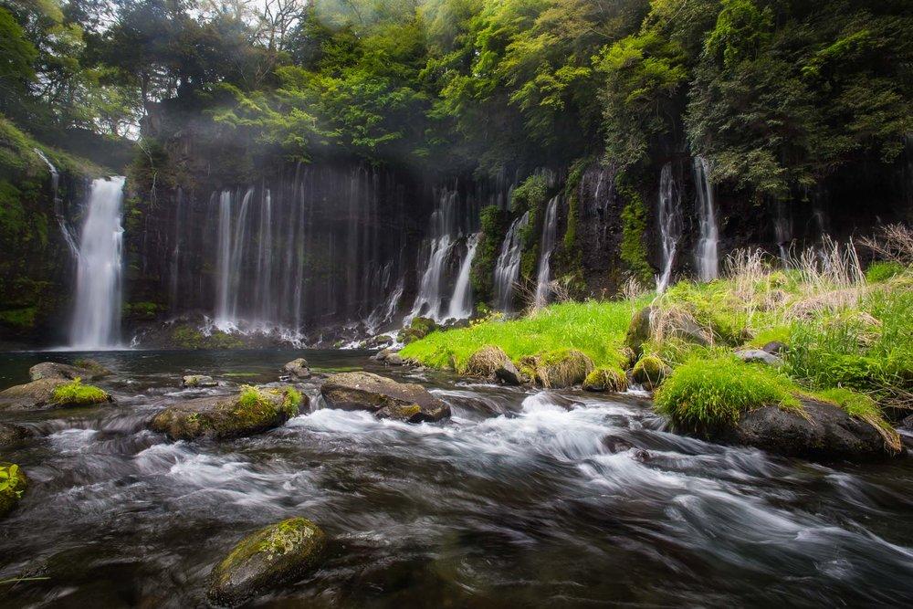 Shiraito Falls - ISO 100, F11 @ 1/4