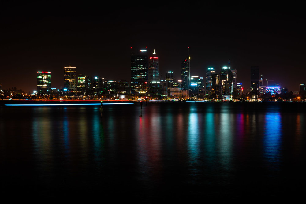 Perth City NightPhotography course -